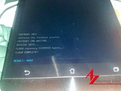 Hướng dẫn chi tiết cách sửa Asus Zenfone 5 treo logo khó